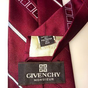 wine givenchy tie